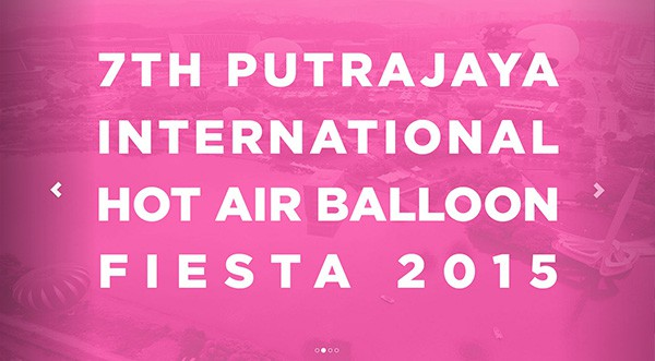 7th Putrajaya Hot Air Balloon Fiesta