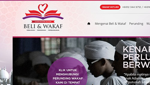 Beli & Wakaf By Illusion Network Solution