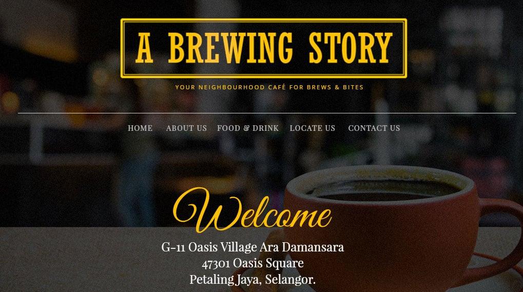 A Brewing Story Cafe – Ara Damansara
