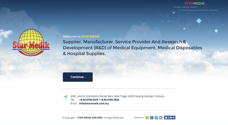Supplier, Manufacturer, Service Provider And Research & Development (R&D) of Medical Equipment, Medical Disposables & Hospital Supplies.