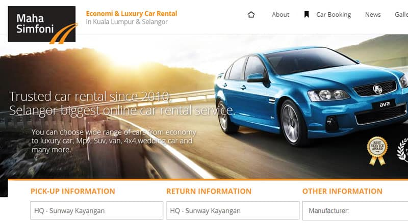 Car Rental Selangor – Final Version