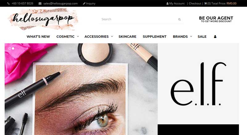 Hellosugarpop – Cosmetic Shop