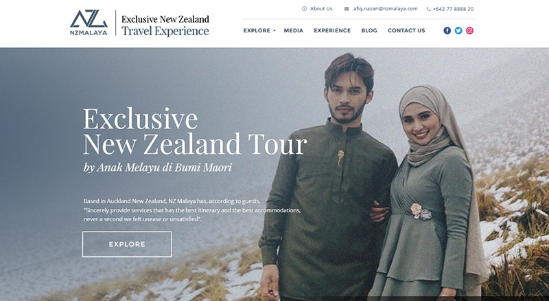Exclusive New Zealand Tour by Anak Melayu di Bumi Maori