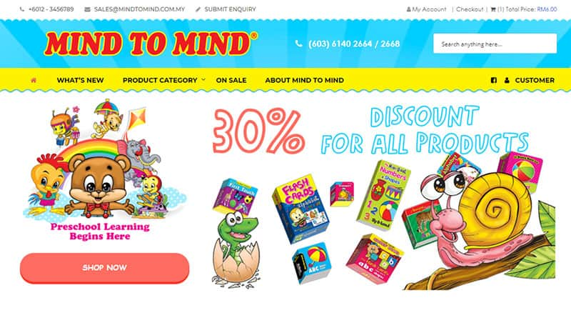 Mindtomind Shop