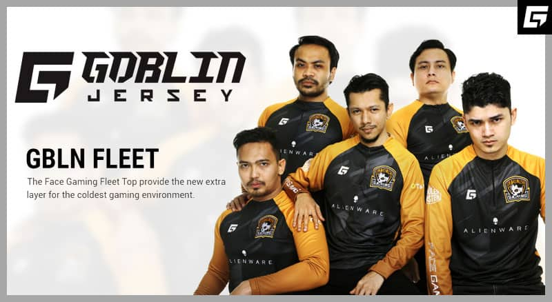 GBLN x The Face Gaming 2019 Kit With a new 3 panel jersey and lightweight breathable TechLight – It's agile than ever before.