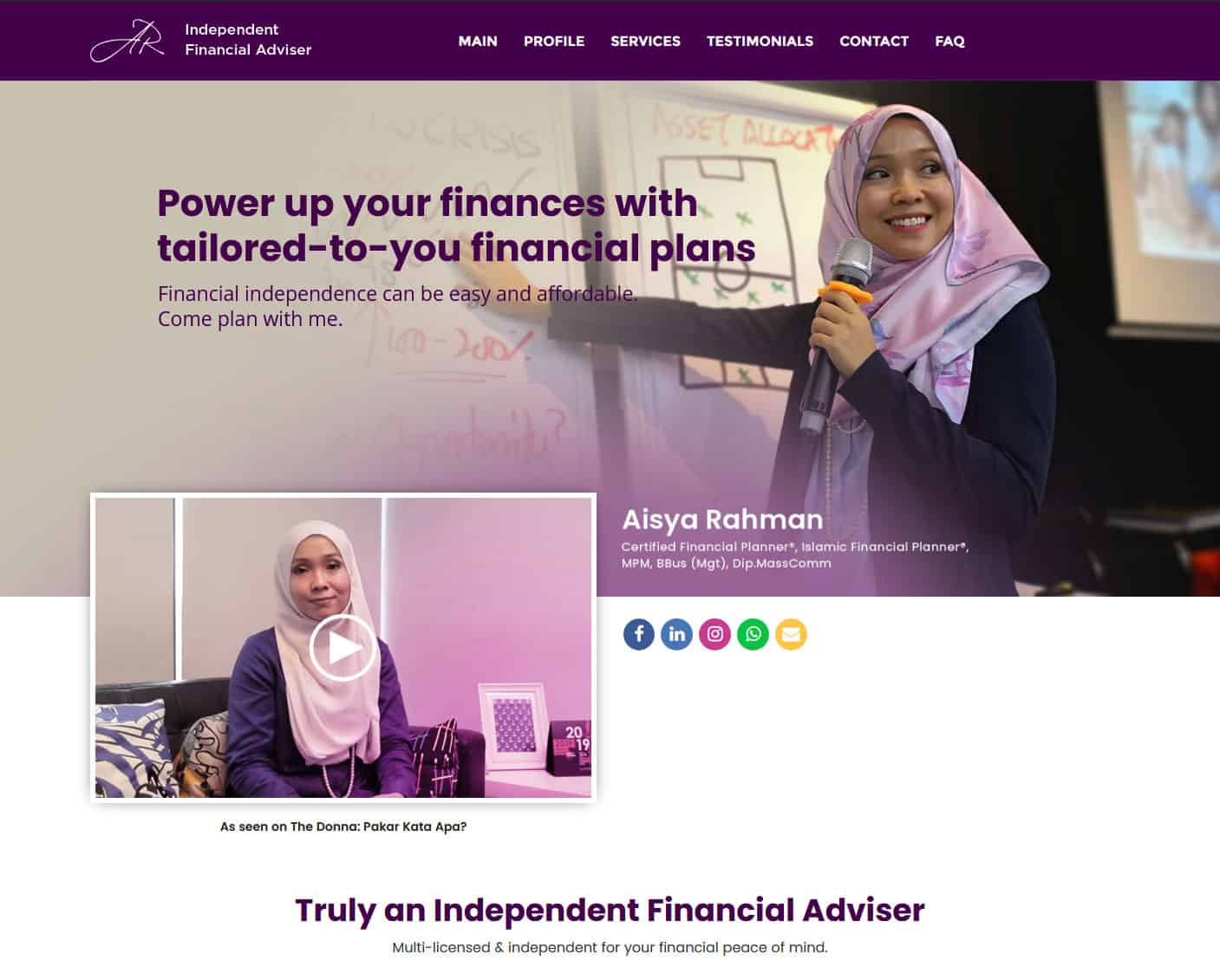 Truly An Independent Financial Adviser