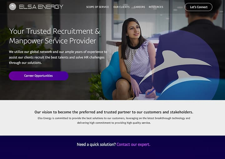 Elsa Energy Recruitment & Manpower
